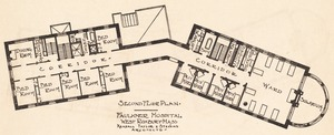 Faulkner Hospital second floor plan