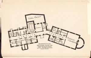 Faulkner Hospital basement plan