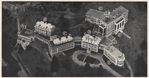 Air view of Faulkner Hospital