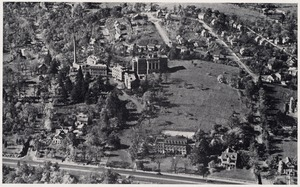 Air view of the Faulkner Hospital