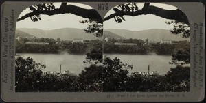West Point from across the Hudson River, N. Y.