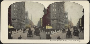 Waldorf-Astoria Hotel, New York City