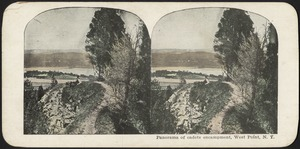 Panorama of cadets encampment, West Point, N. Y.