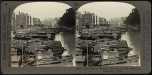 The canal between the Bund of Canton and the Island of Shameen