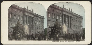 Emperor's palace and fountain, Berlin