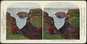 Carrick-a-rede, rope bridge, Ireland