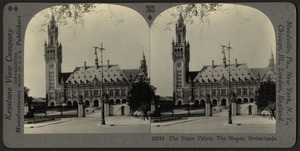 The peace palace, The Hague, Netherlands