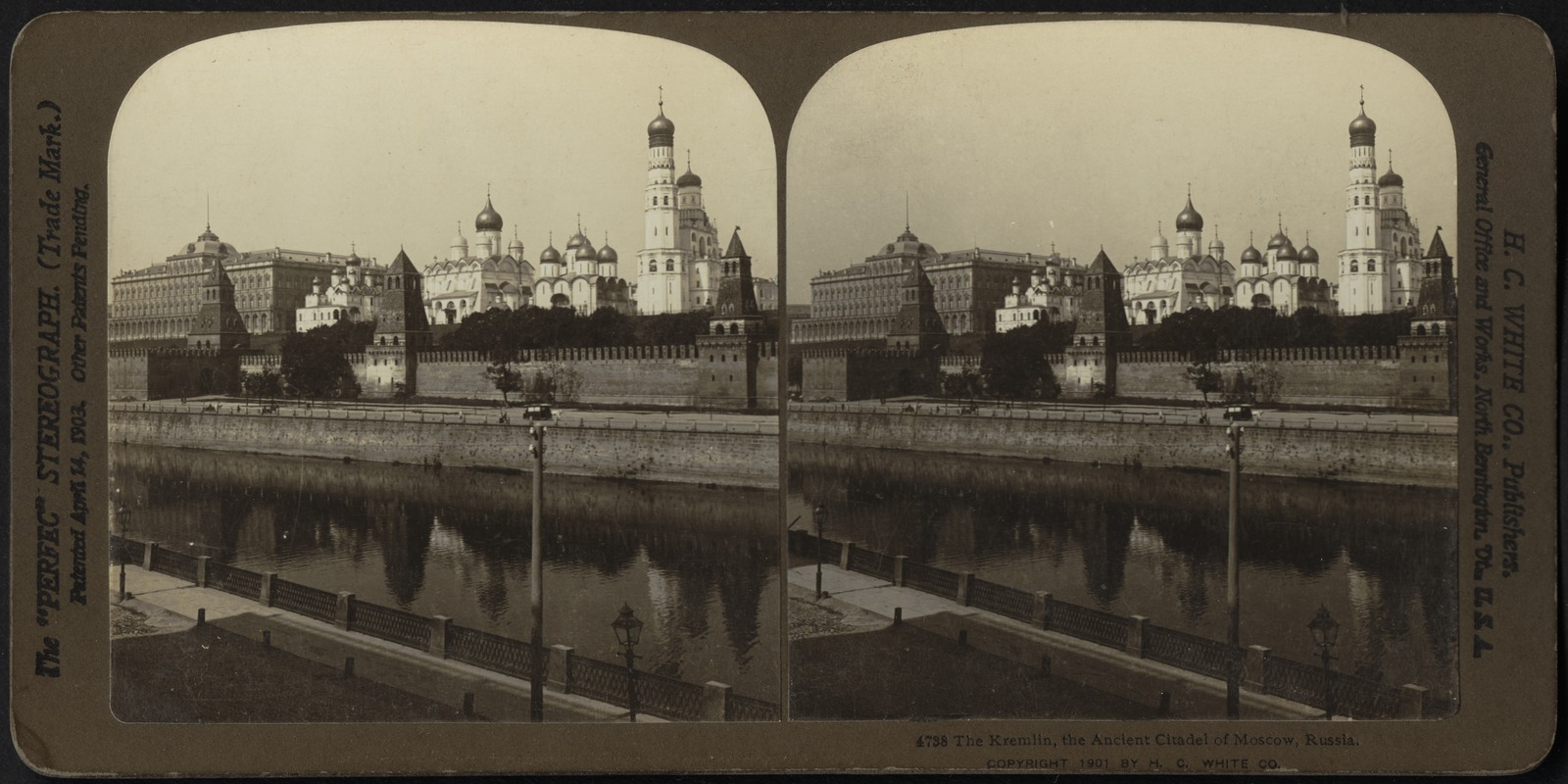 The Kremlin, the ancient citadel of Moscow, Russia