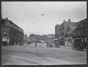 Washington Street at Brookline Village