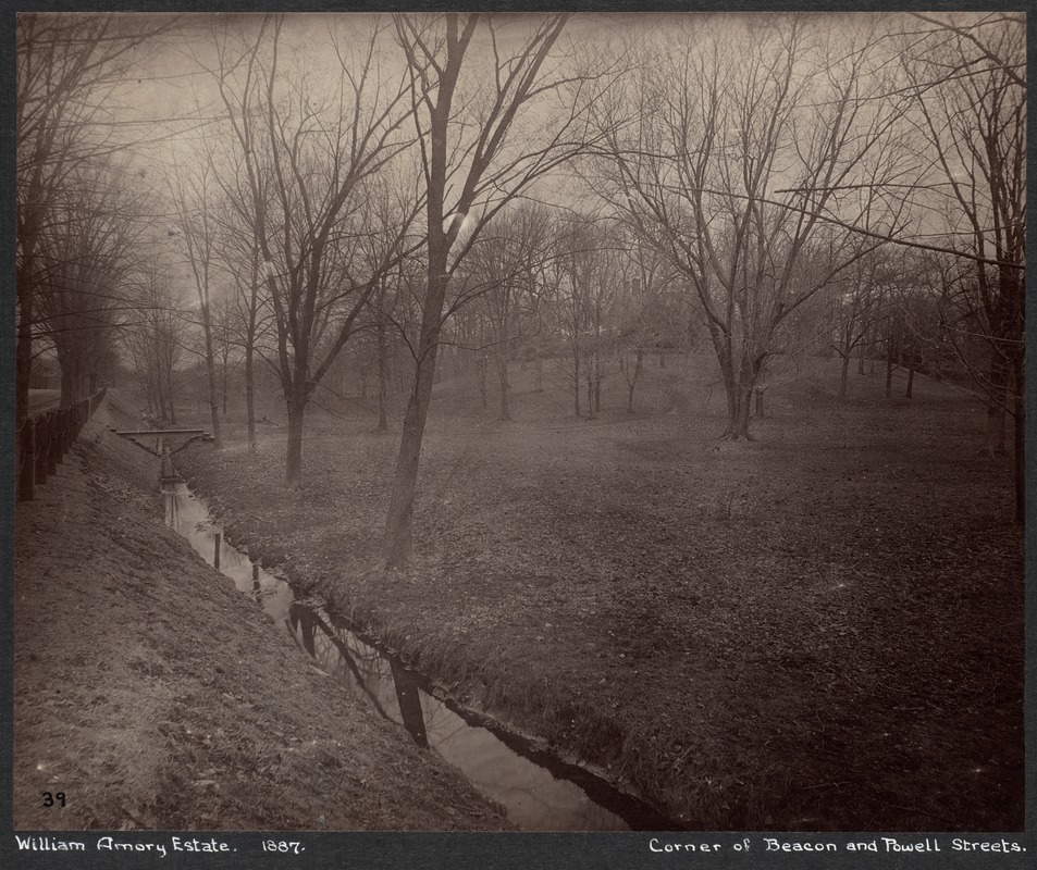 Estate of William Amory, Beacon & Powell Sts.