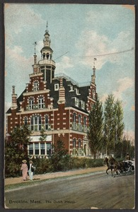 "House of Chas. B. Appleton. ""the Dutch house"", 20 Netherlands Rd."