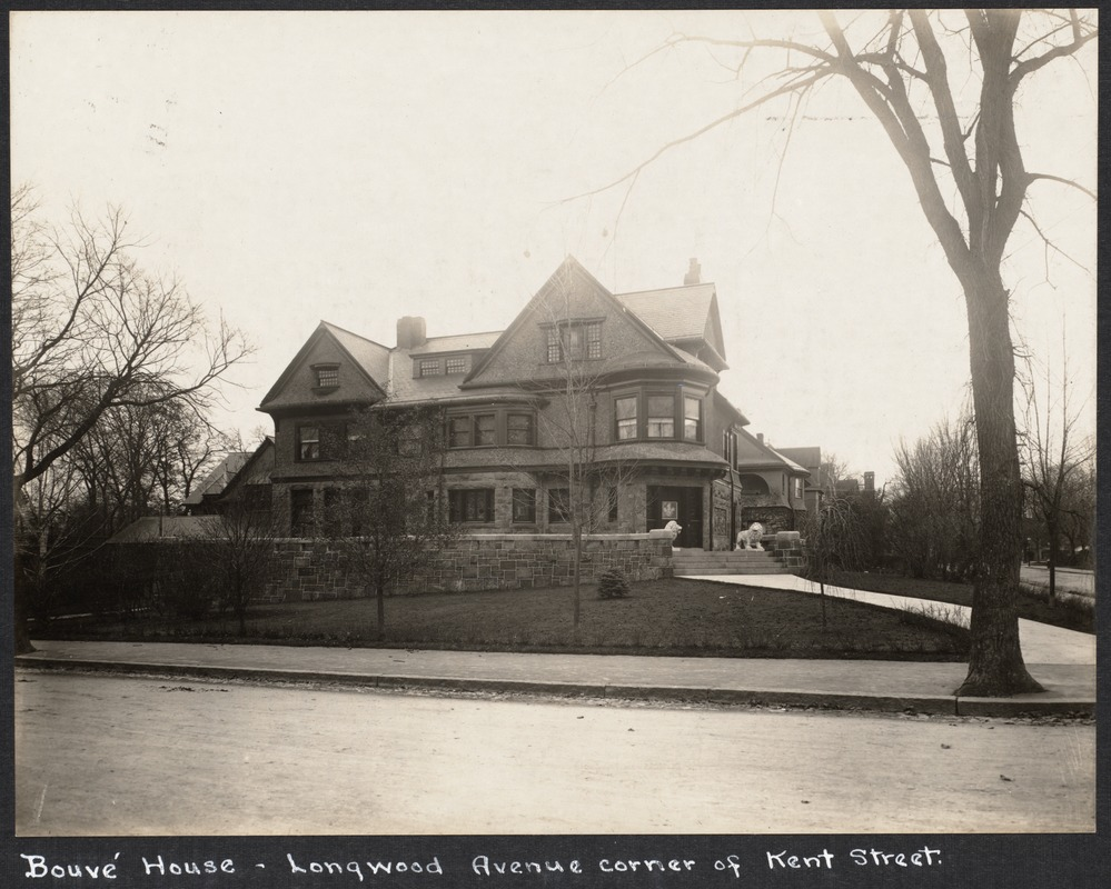 Bouvé house, Longwood Ave.