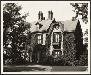 Dr. Fritz B. Talbot house, 24 (formerly 100) Cottage Farm Rd.