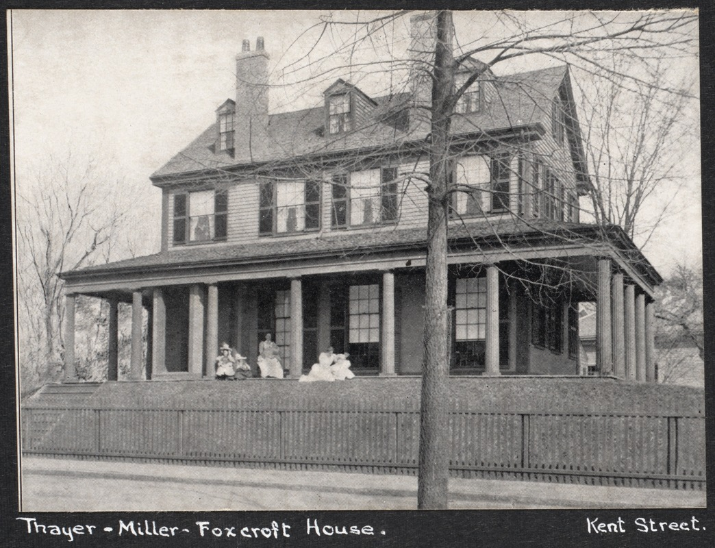 Luther Thayer house