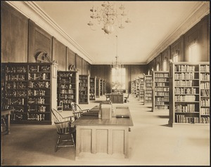 Public Library, 1910 building, Book Room