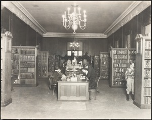 Public Library, 1910 building, reference room
