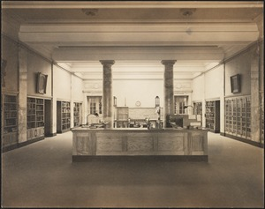 Public Library, interior view