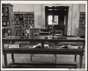 Public Library, library activities, Yale University book exhibit