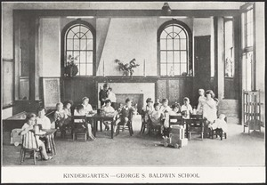 Baldwin School, kindergarten