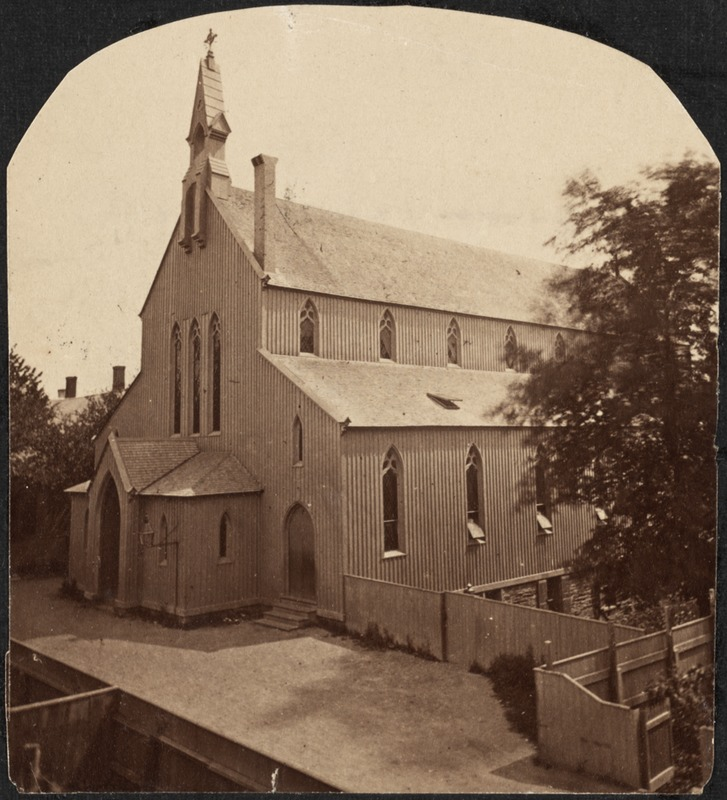 St. Mary's Church (first building), Andem Place