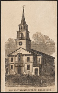 First Parish Church, second building, Walnut St.