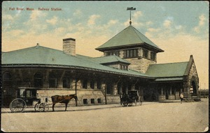 Fall River, Mass. railway station