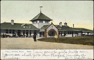 Fall River, Mass. depot