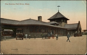 The station, Fall River, Mass.