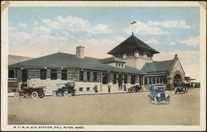 N.Y. N.H. & H. Station, Fall River, Mass.