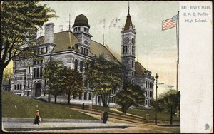 Fall River, Mass. B.M.C. Durfee High School.