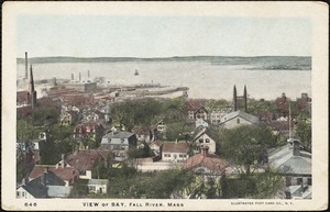 View of bay, Fall River, Mass.