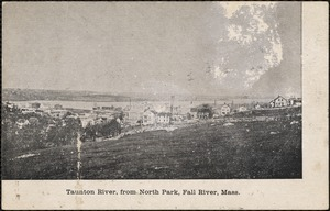 Taunton River, from North Park, Fall River, Mass.