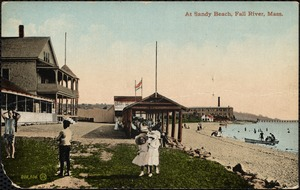 At Sandy Beach, Fall River, Mass.