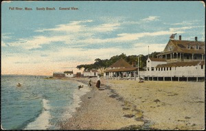Fall River, Mass. Sandy Beach, general view