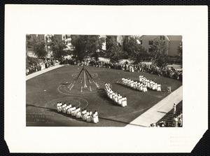March to the maypole F.N.S. Class Day 1914