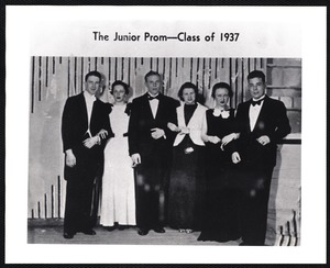 The Junior Prom - class of 1937