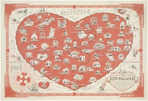 A pictorial map of loveland