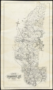 Map of Somerset Co., Maine