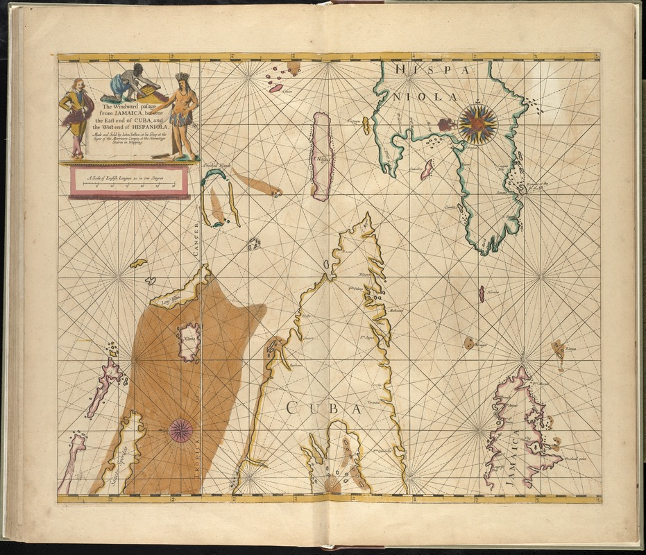 The Windward passage from Jamaica, betwene the east end of Cuba, and the west end of Hispaniola