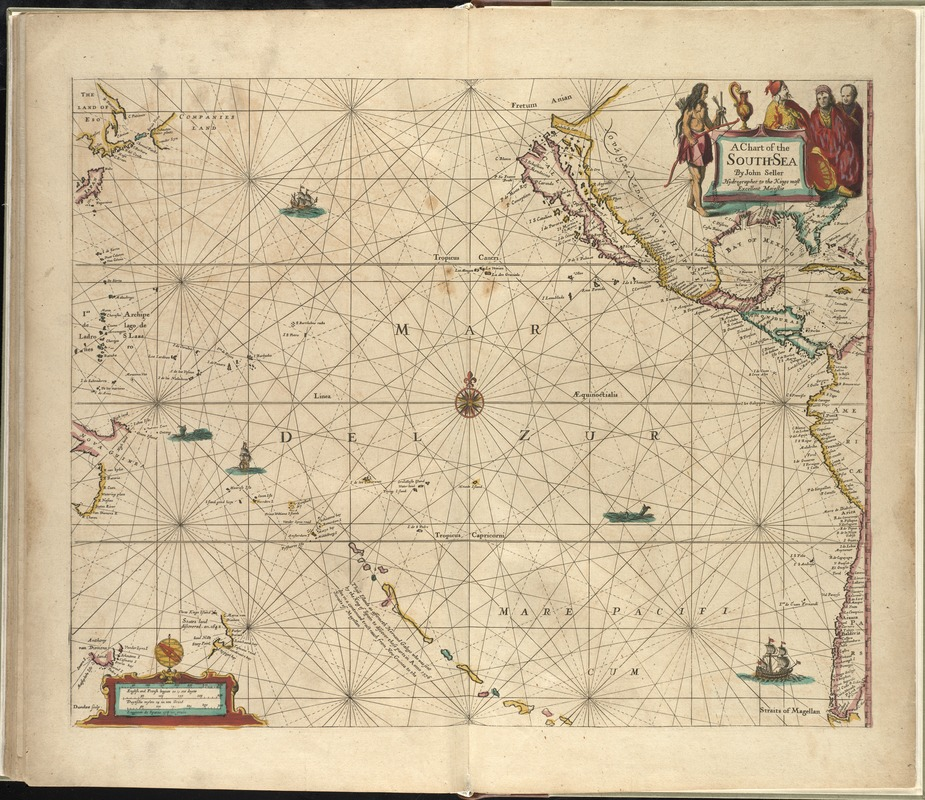 A chart of the South Sea