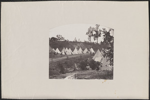 Camp of Construction Corps U.S. Military Rail Road City Point Virginia