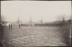 Guard mounting 164th New York Infantry