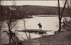 Bull Run near Blackburns Ford March 1862