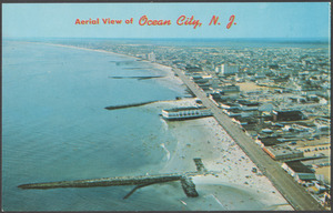 Aerial view of Ocean City, N. J.