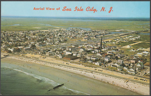 Aerial view of Sea Isle City, N. J.