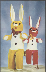 6 ft. Easter bunnies