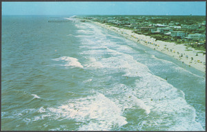 Aerial view of the beautiful surf at Myrtle Beach, S.C.