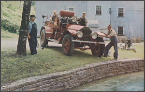 Jack Daniel's fire engine
