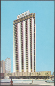 The beautiful 31 story Security Life Building, one of Denver's tallest, is the home office of Security Life of Denver
