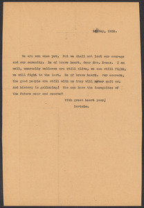 Sacco-Vanzetti Case Records, 1920-1928. Correspondence. Bartolomeo Vanzetti to Irene Benton, May 14, 1926. Box 39, Folder 27, Harvard Law School Library, Historical & Special Collections